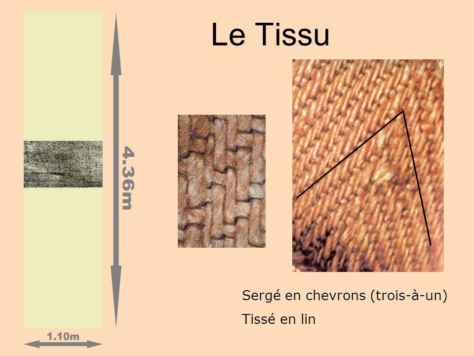 1.10m 4.36m Le Tissu Sergé en chevrons (trois-à-un) Tissé en lin