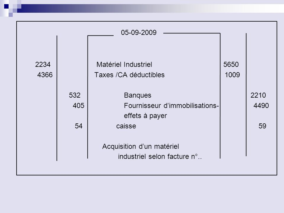 05-09-2009 2234 Matériel Industriel 5650
