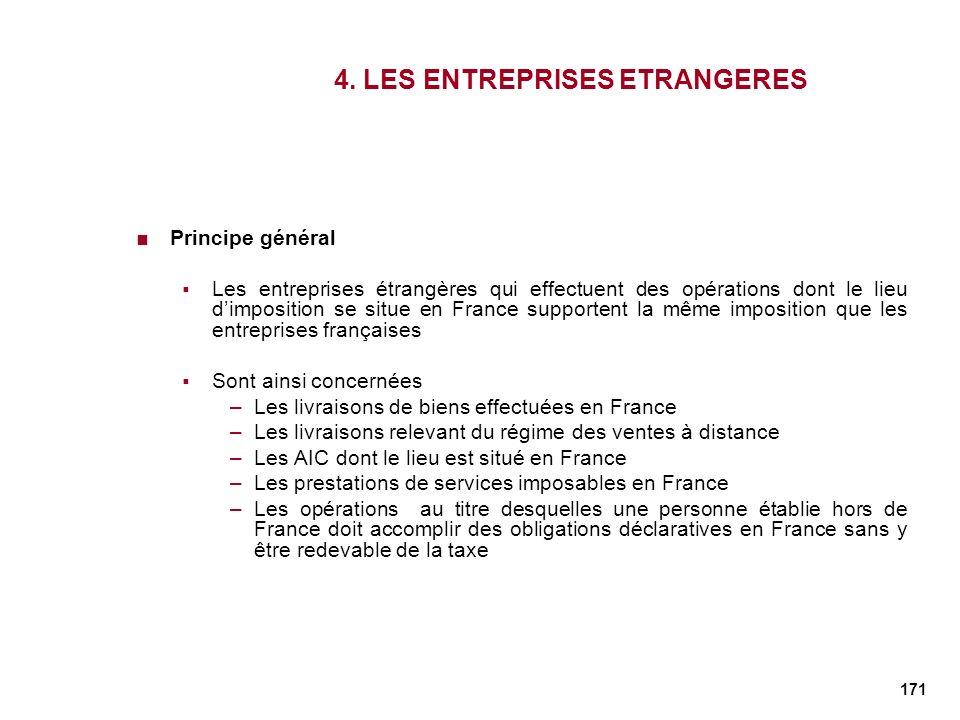 4. LES ENTREPRISES ETRANGERES