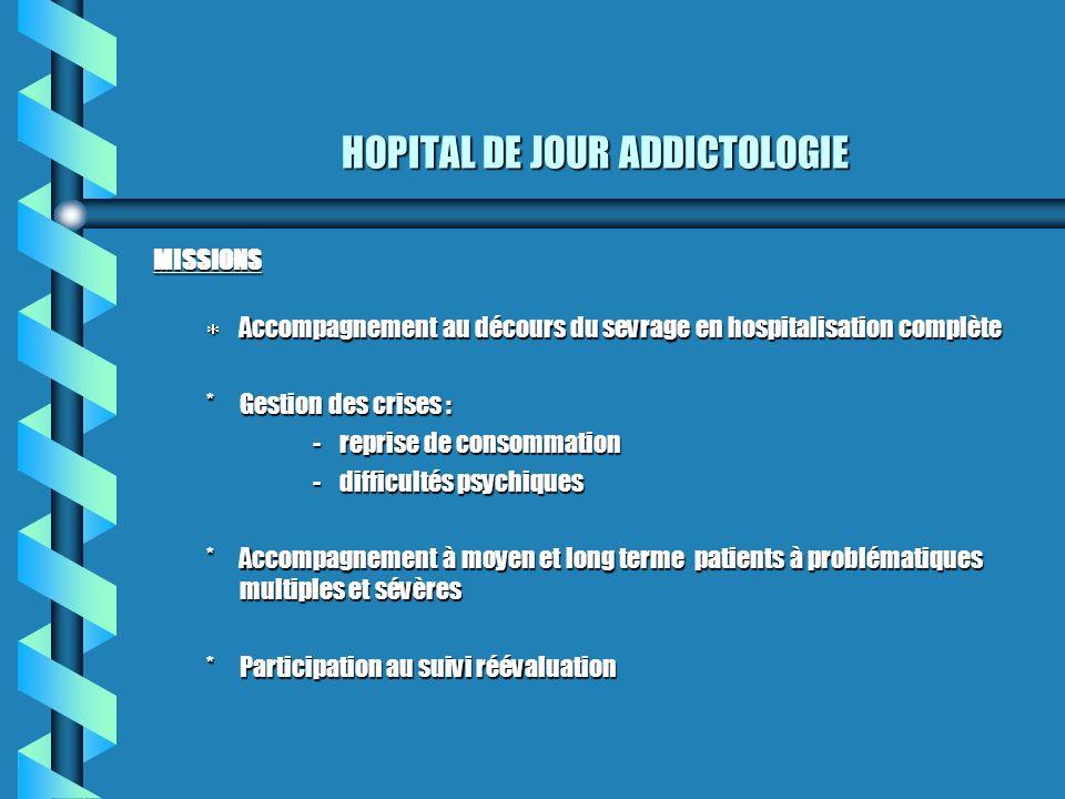 HOPITAL DE JOUR ADDICTOLOGIE