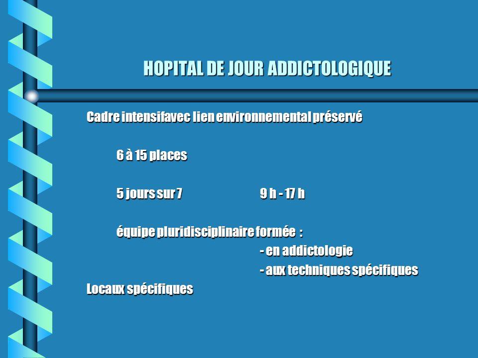 HOPITAL DE JOUR ADDICTOLOGIQUE