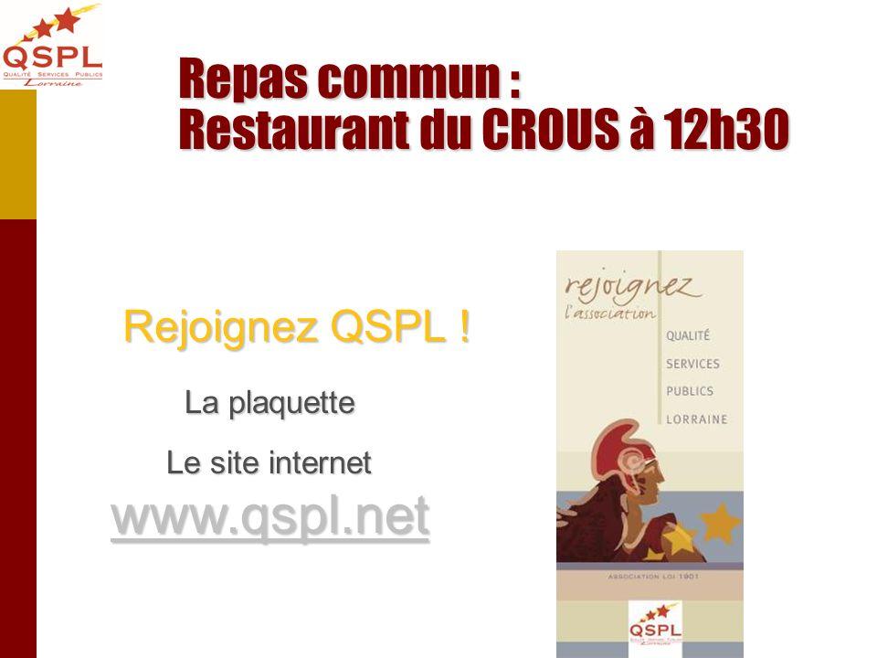 Le site internet www.qspl.net