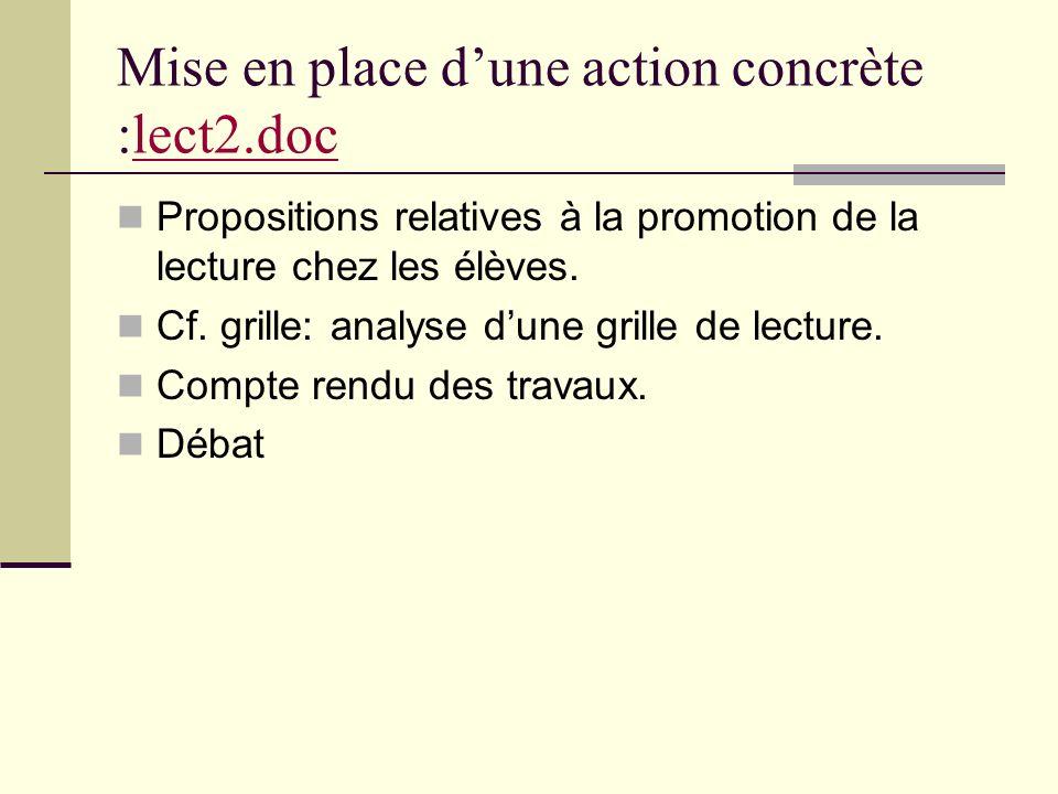 Mise en place d'une action concrète :lect2.doc