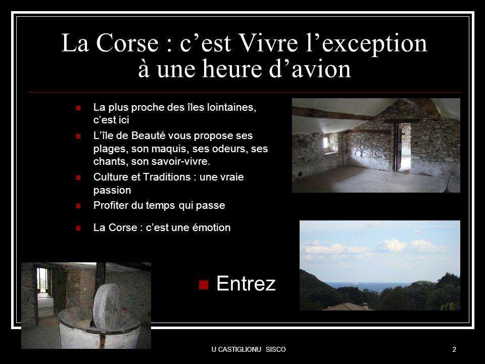 La Corse : c'est Vivre l'exception à une heure d'avion
