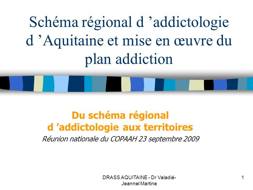 Du schéma régional d 'addictologie aux territoires