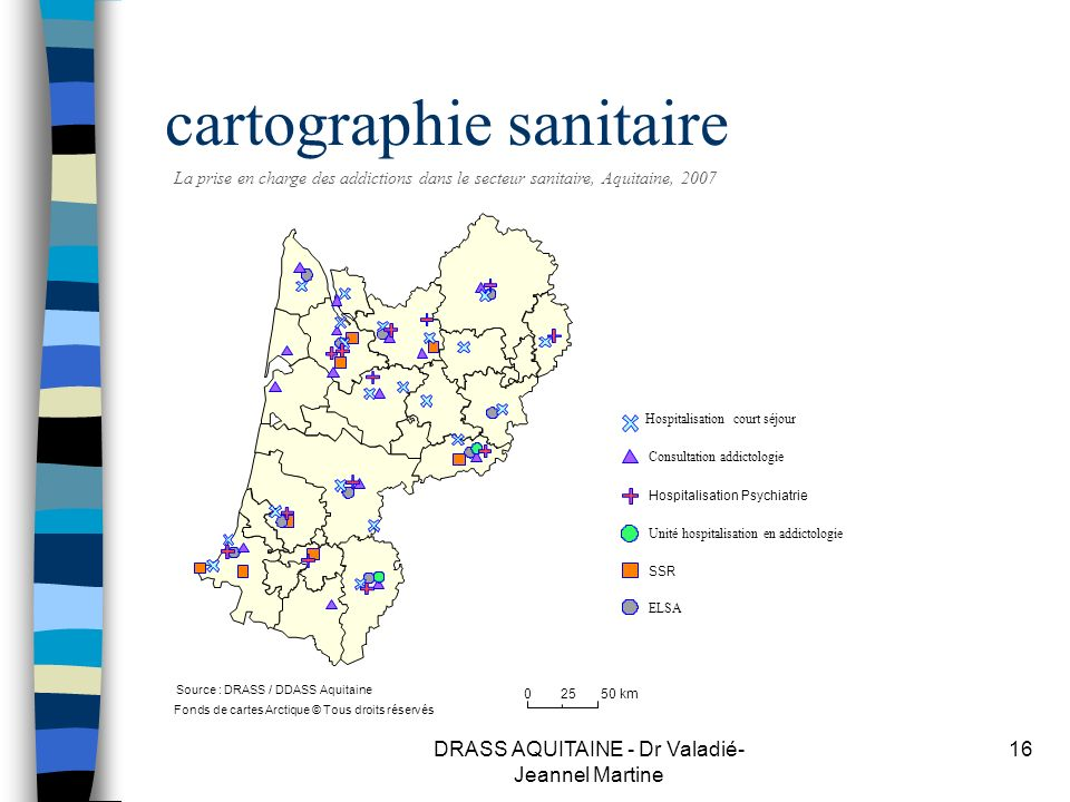 cartographie sanitaire