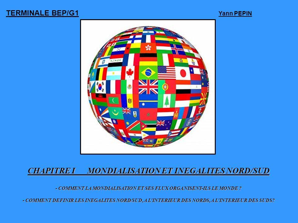 CHAPITRE I MONDIALISATION ET INEGALITES NORD/SUD