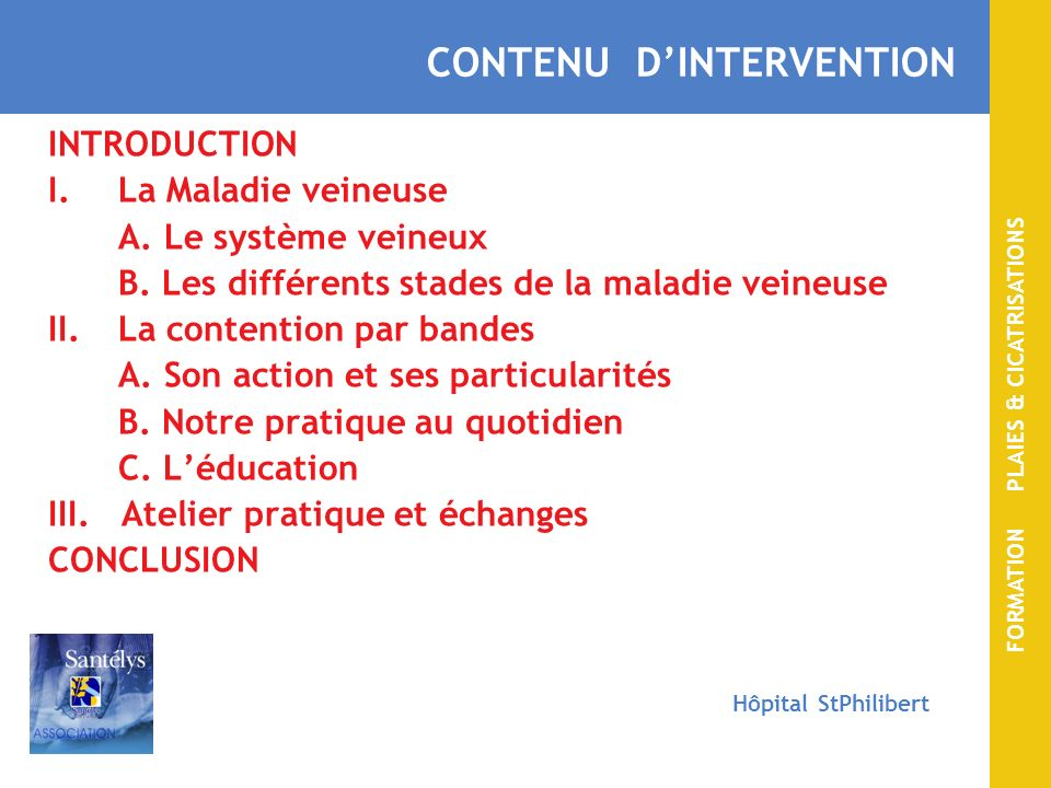 CONTENU D'INTERVENTION