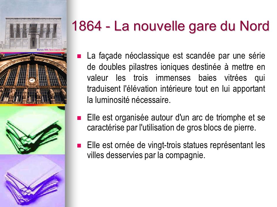 1864 - La nouvelle gare du Nord