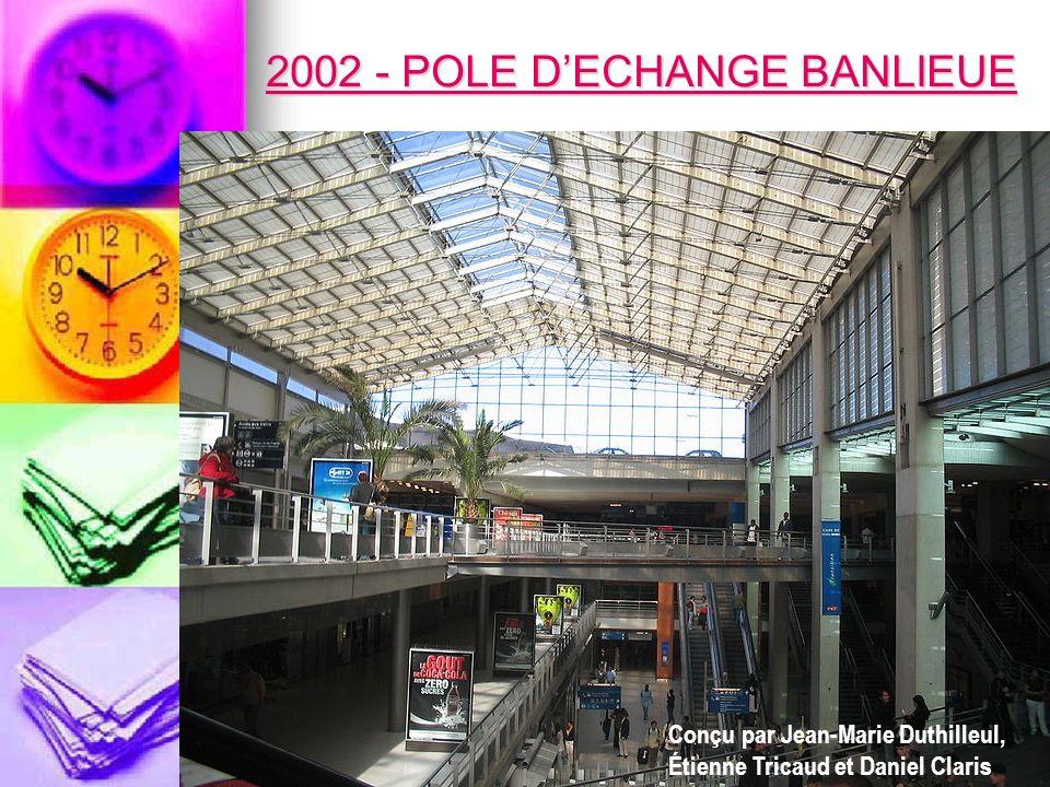2002 - POLE D'ECHANGE BANLIEUE