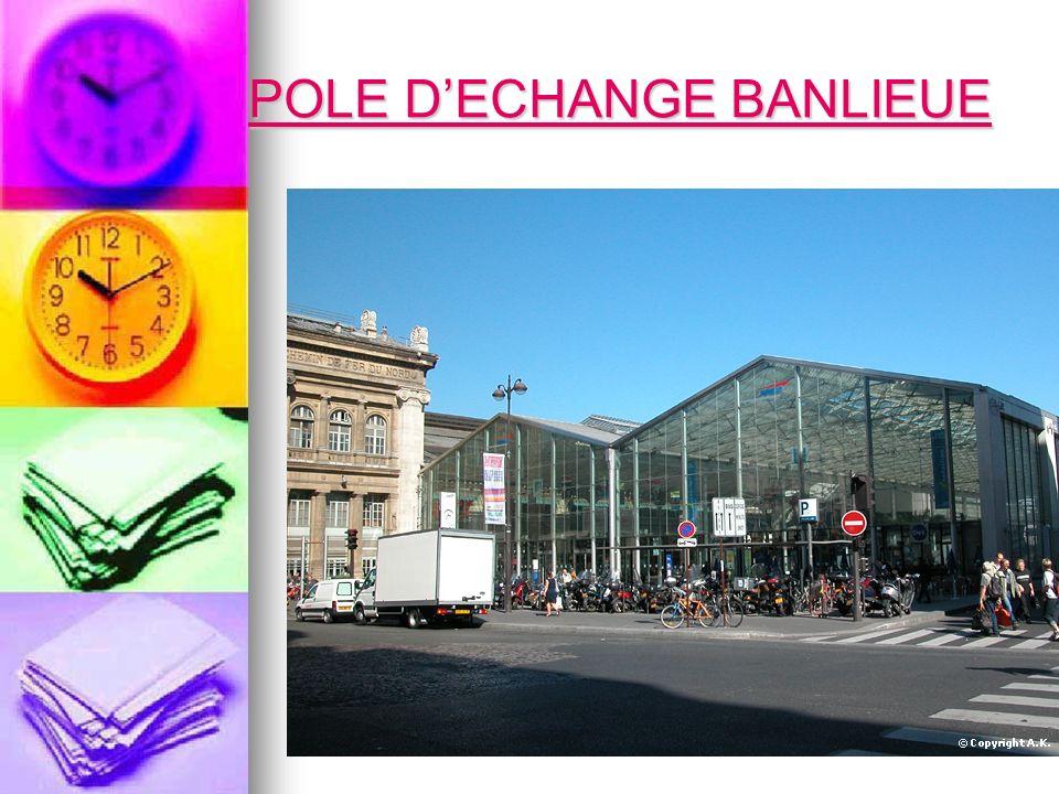 POLE D'ECHANGE BANLIEUE