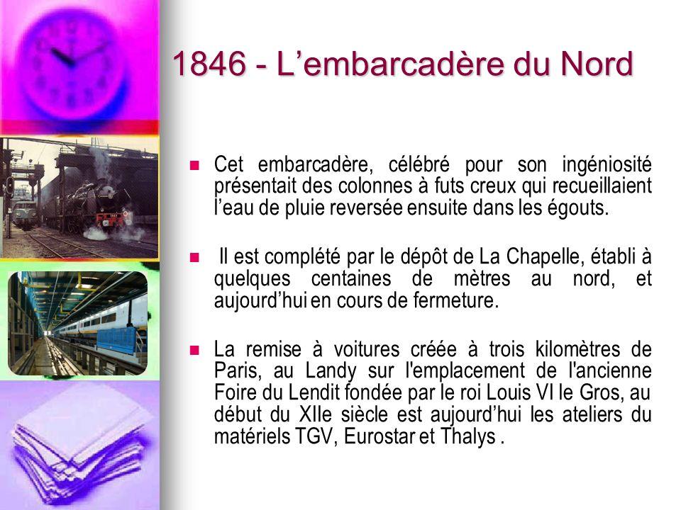 1846 - L'embarcadère du Nord