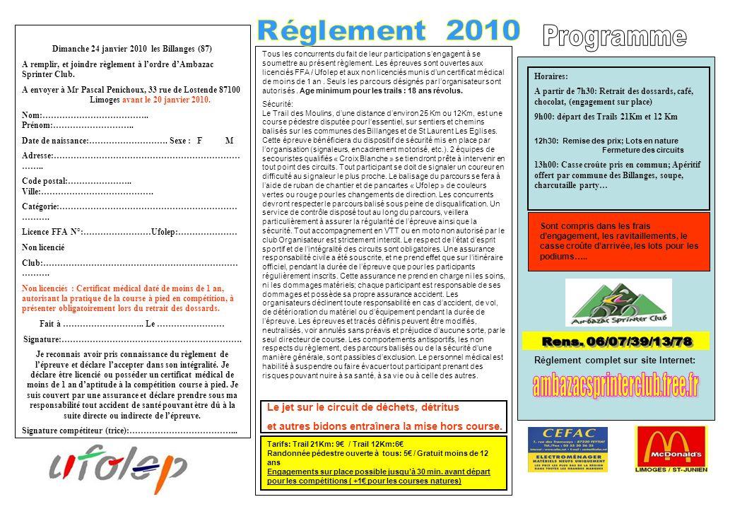 Rens. 06/07/39/13/78 ambazacsprinterclub.free.fr