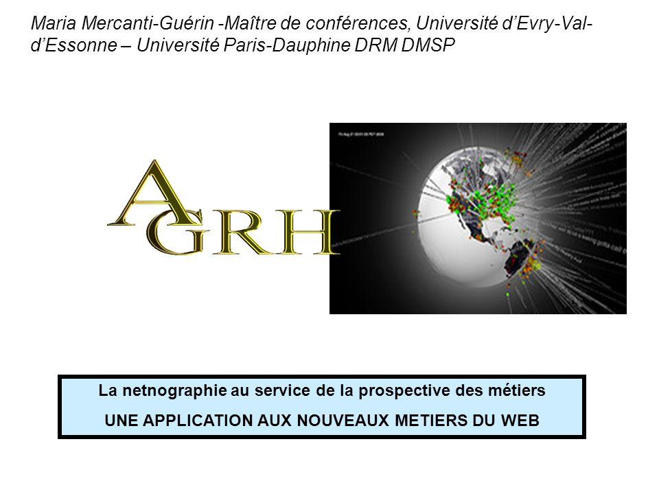Maria Mercanti-Guérin -Maître de conférences, Université d'Evry-Val-d'Essonne – Université Paris-Dauphine DRM DMSP