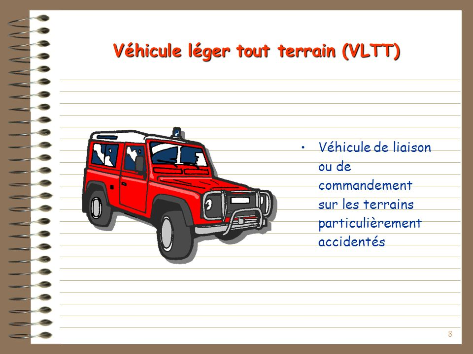 Véhicule léger tout terrain (VLTT)