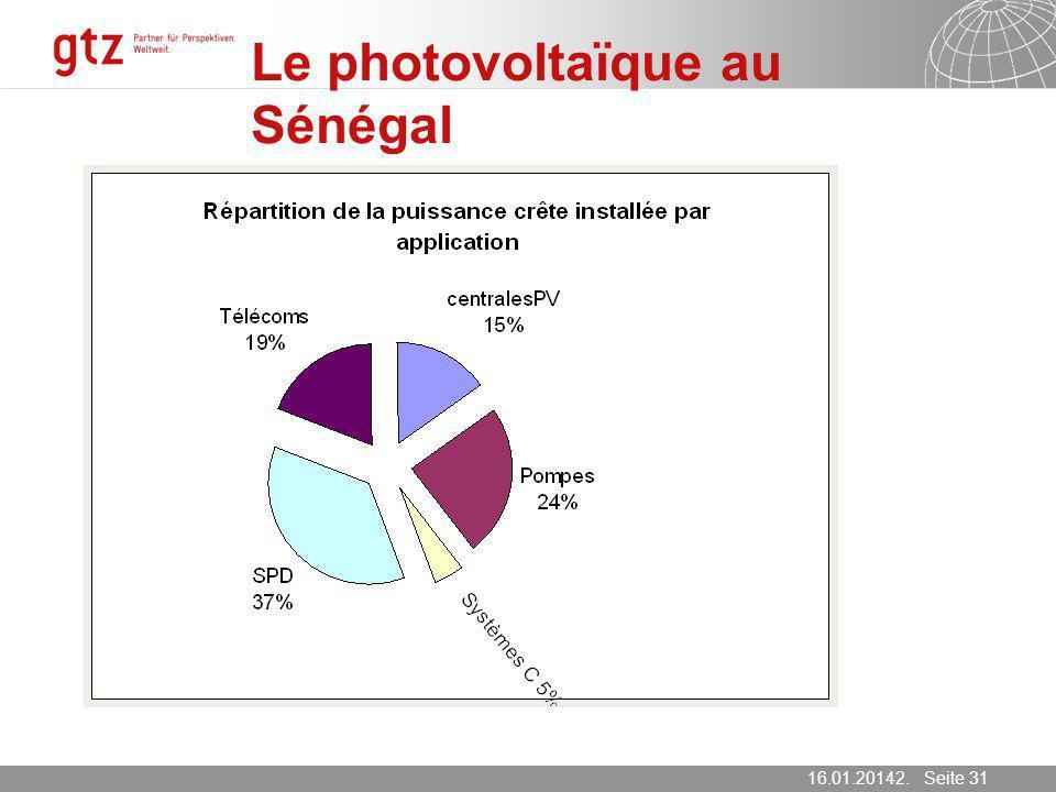 Le photovoltaïque au Sénégal