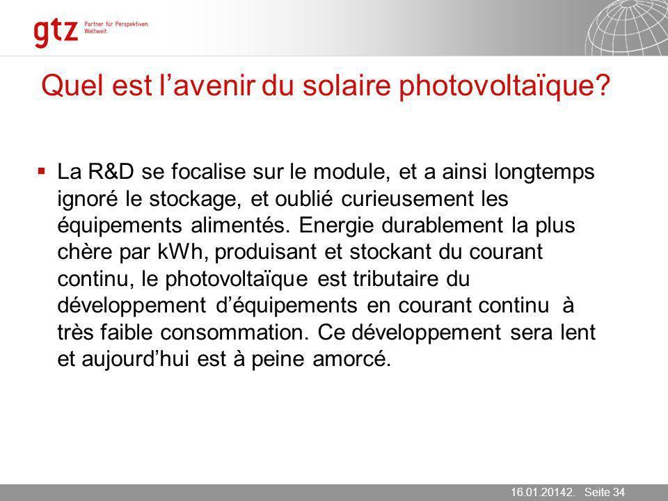 Quel est l'avenir du solaire photovoltaïque