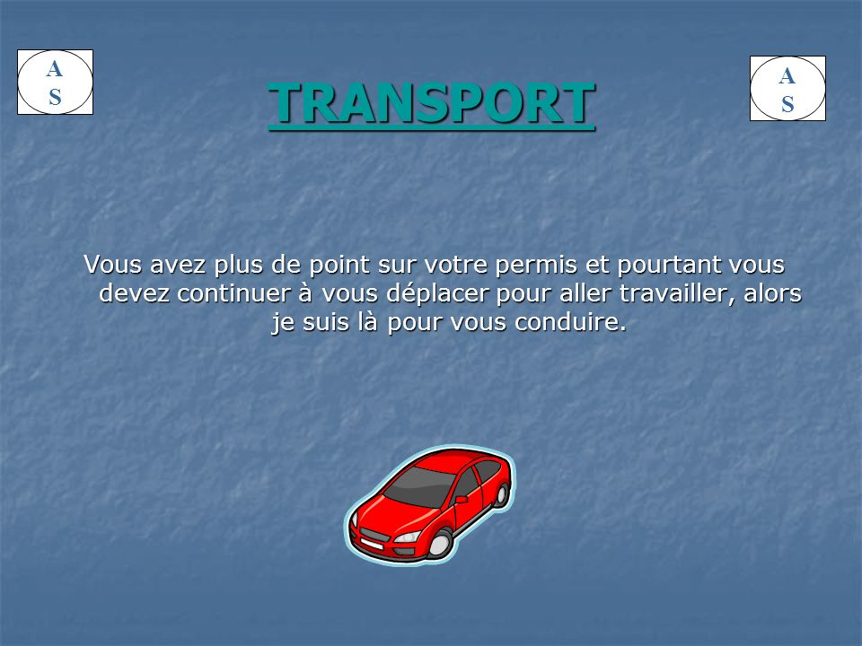A S. TRANSPORT. A. S.