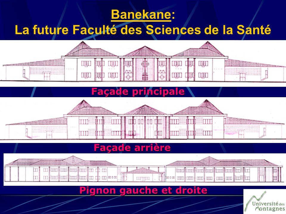 Banekane: La future Faculté des Sciences de la Santé