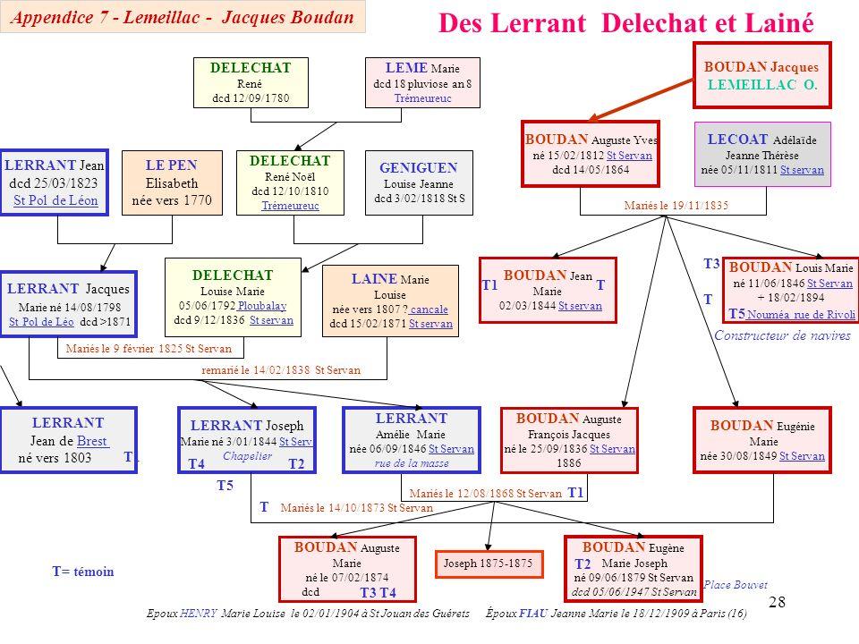 Appendice 7 - Lemeillac - Jacques Boudan