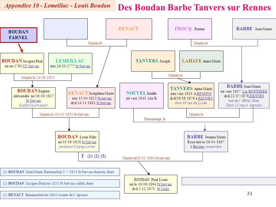 Appendice 10 - Lemeillac - Louis Boudan