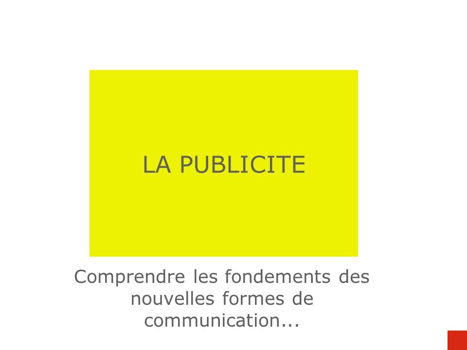 Comprendre les fondements des nouvelles formes de communication...