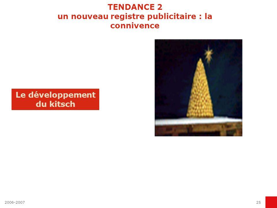 TENDANCE 2 un nouveau registre publicitaire : la connivence