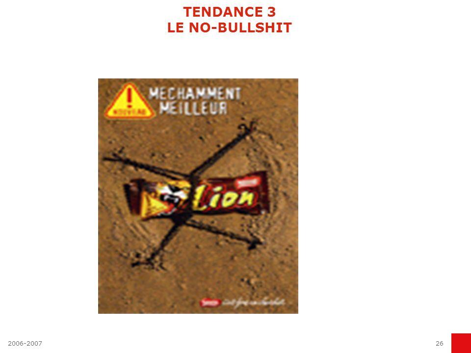 TENDANCE 3 LE NO-BULLSHIT