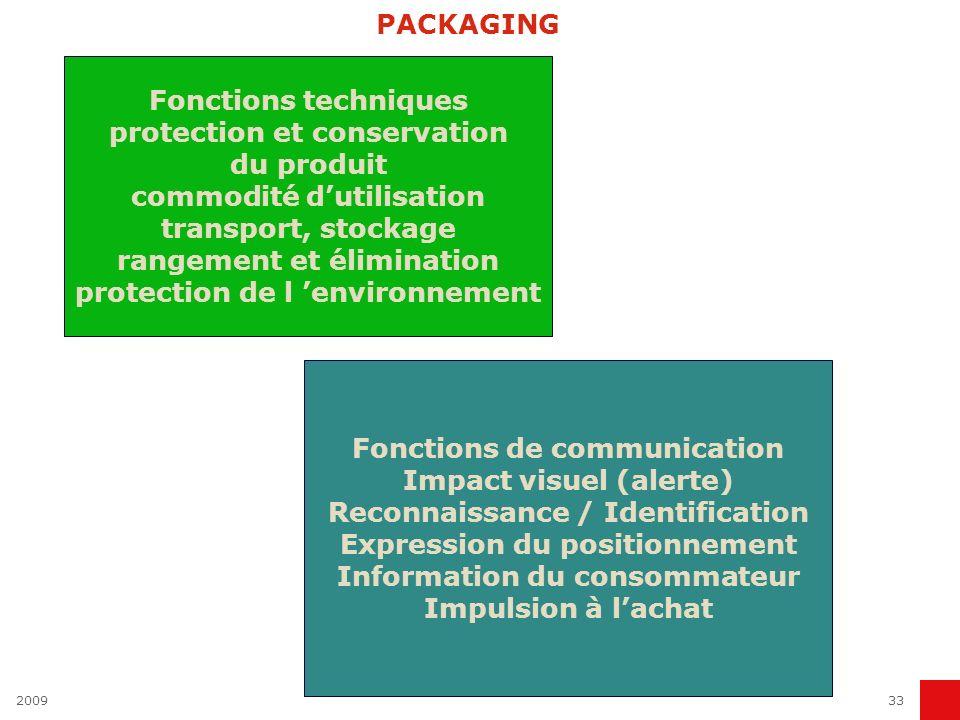 protection et conservation du produit commodité d'utilisation