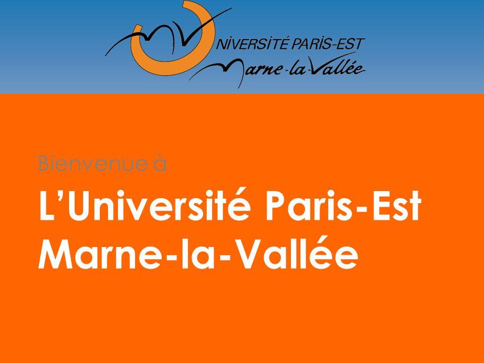 L'Université Paris-Est Marne-la-Vallée