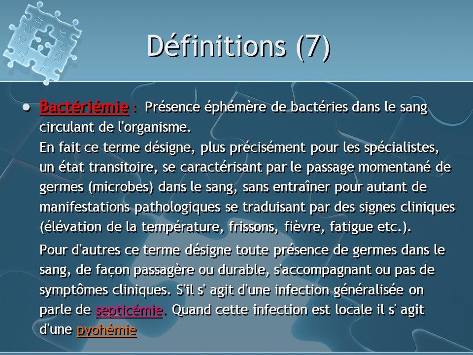 Définitions (7)