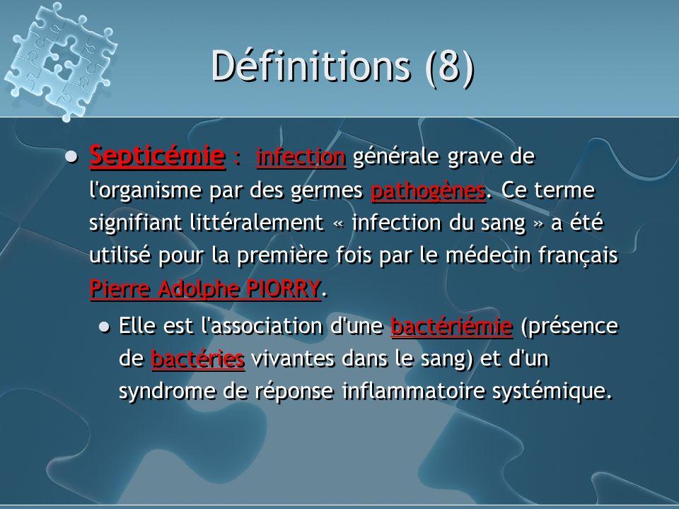 Définitions (8)