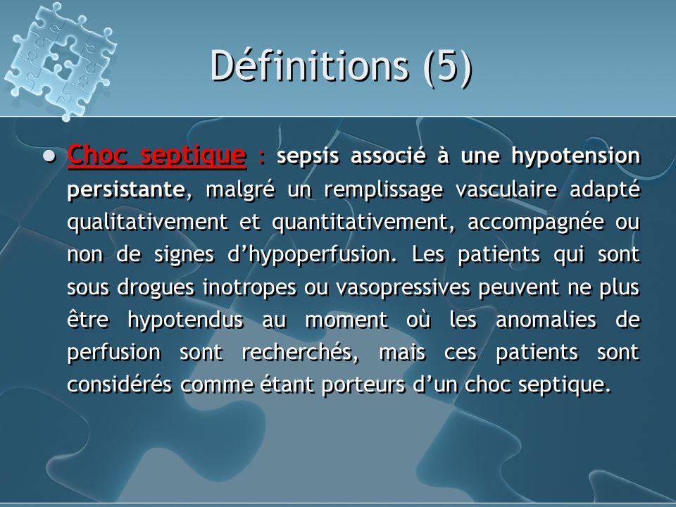 Définitions (5)
