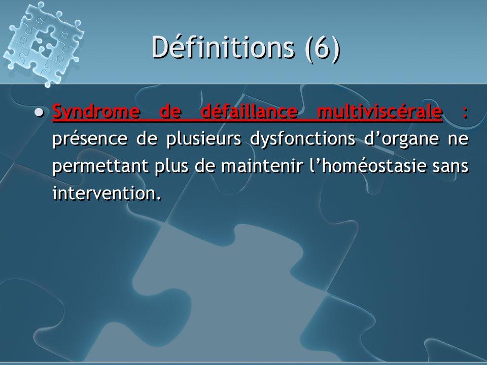 Définitions (6)