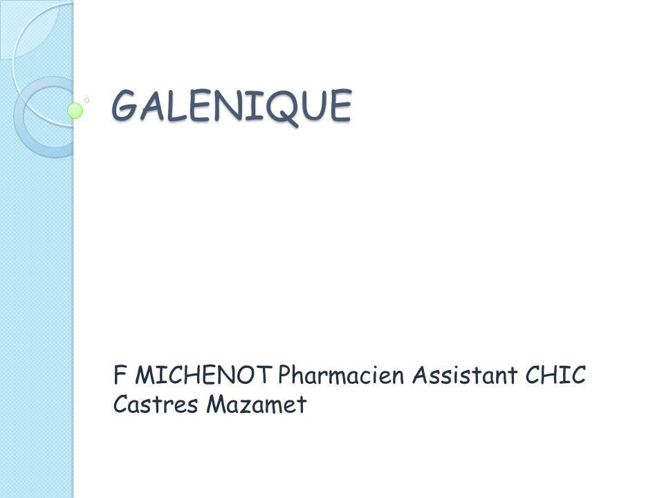 F MICHENOT Pharmacien Assistant CHIC Castres Mazamet