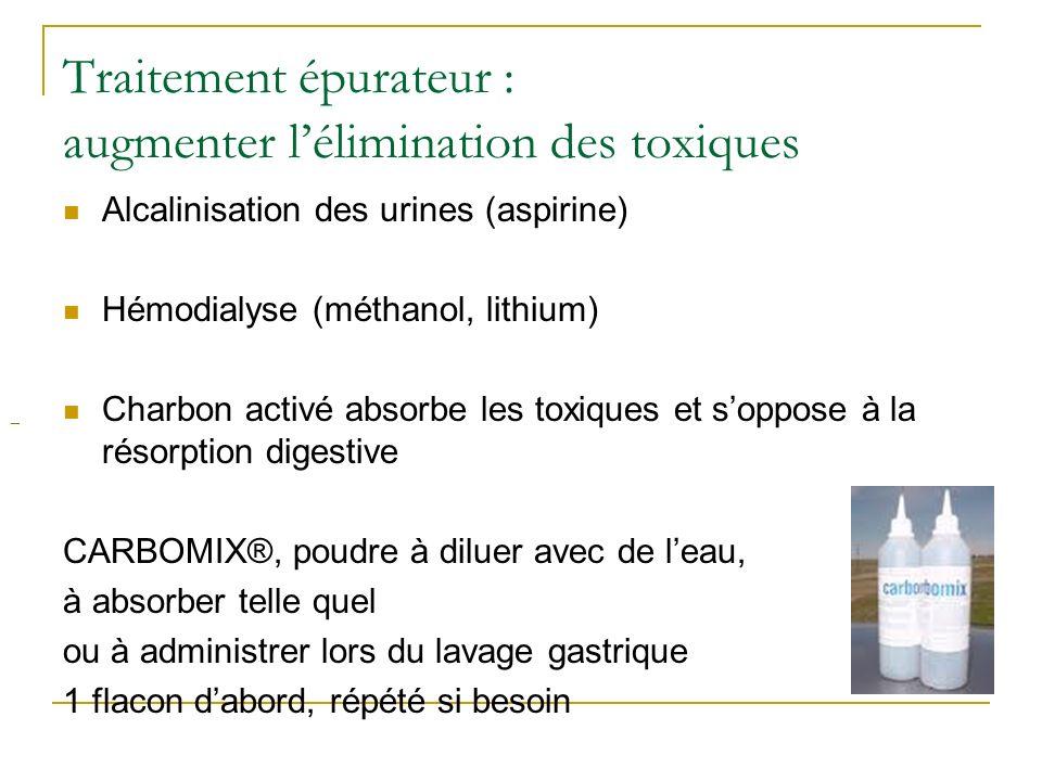 Traitement épurateur : augmenter l'élimination des toxiques