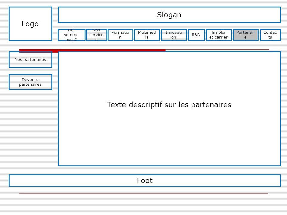 Texte descriptif sur les partenaires