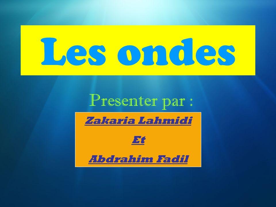Les ondes presenter par zakaria lahmidi et abdrahim fadil ppt video online t l charger - Le sel et les ondes negatives ...