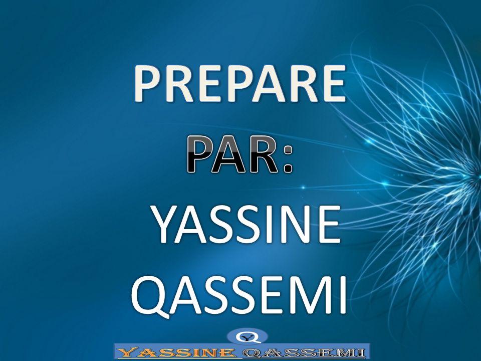 PREPARE PAR: YASSINE QASSEMI