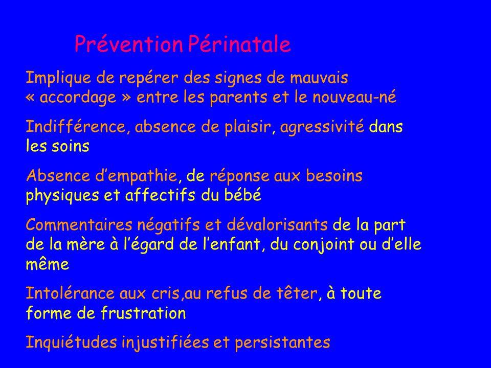 Prévention Périnatale