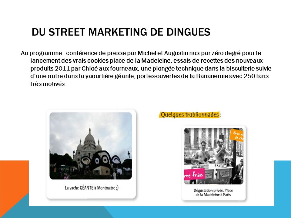 DU STREET MARKETING DE DINGUES
