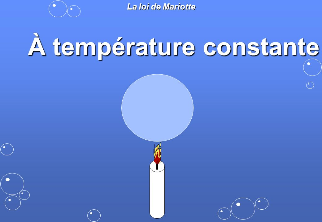 À température constante