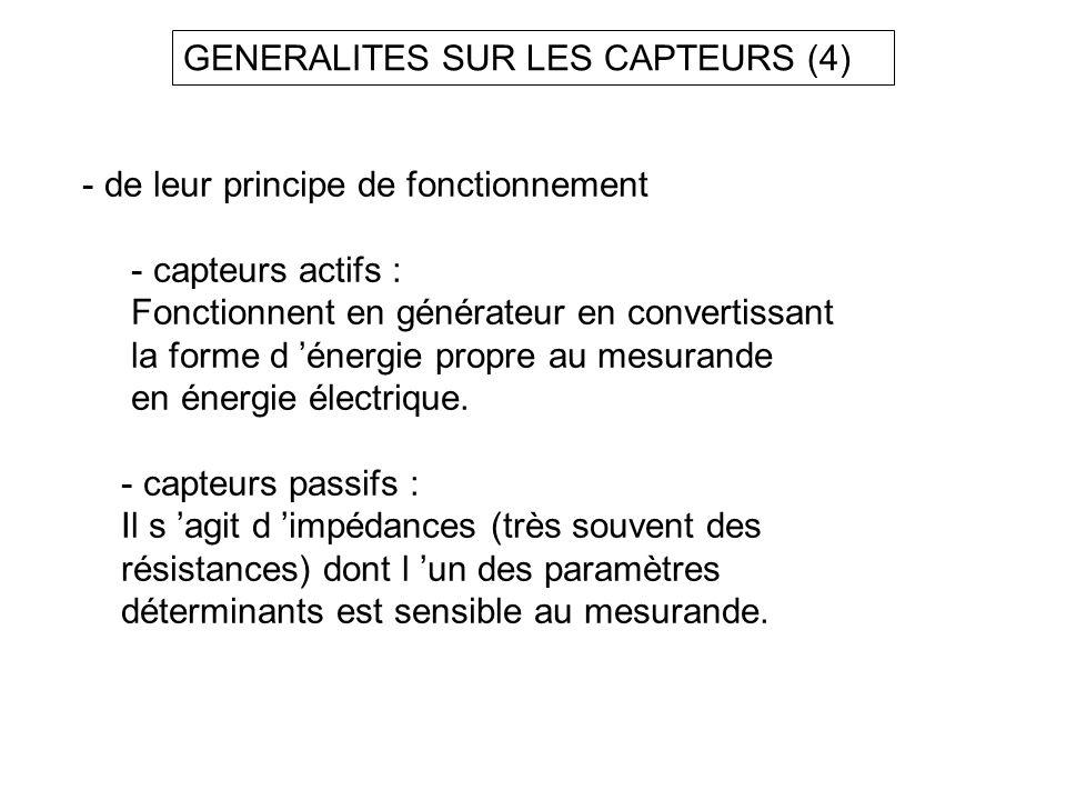 GENERALITES SUR LES CAPTEURS (4)
