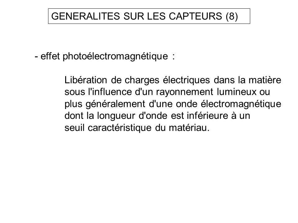GENERALITES SUR LES CAPTEURS (8)