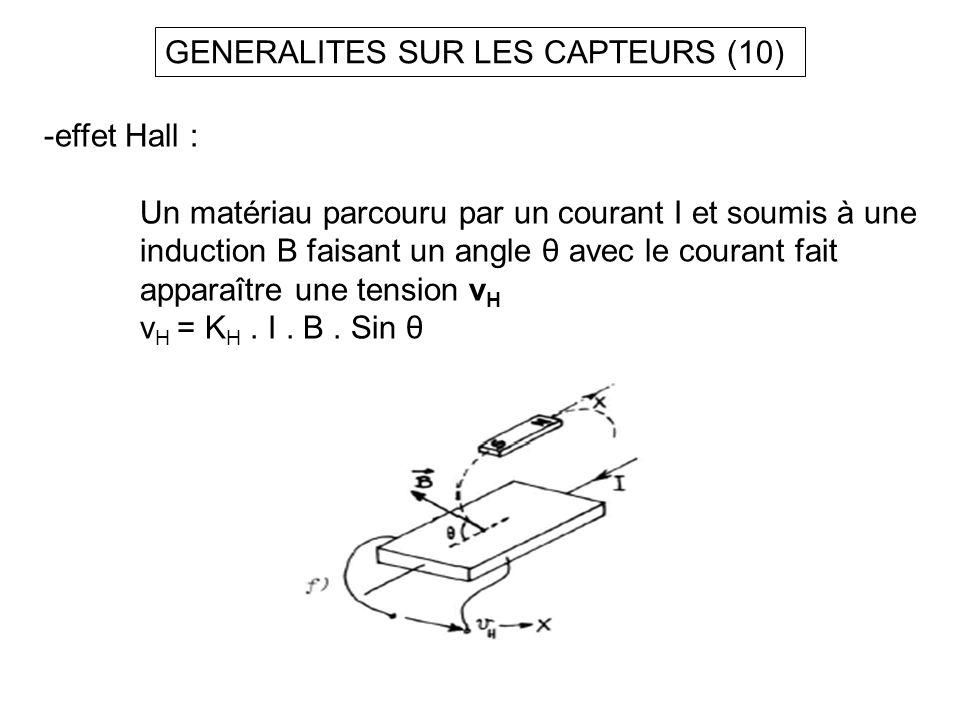 GENERALITES SUR LES CAPTEURS (10)