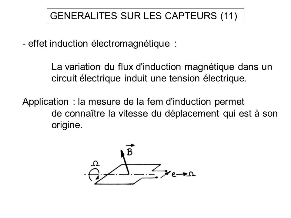 GENERALITES SUR LES CAPTEURS (11)