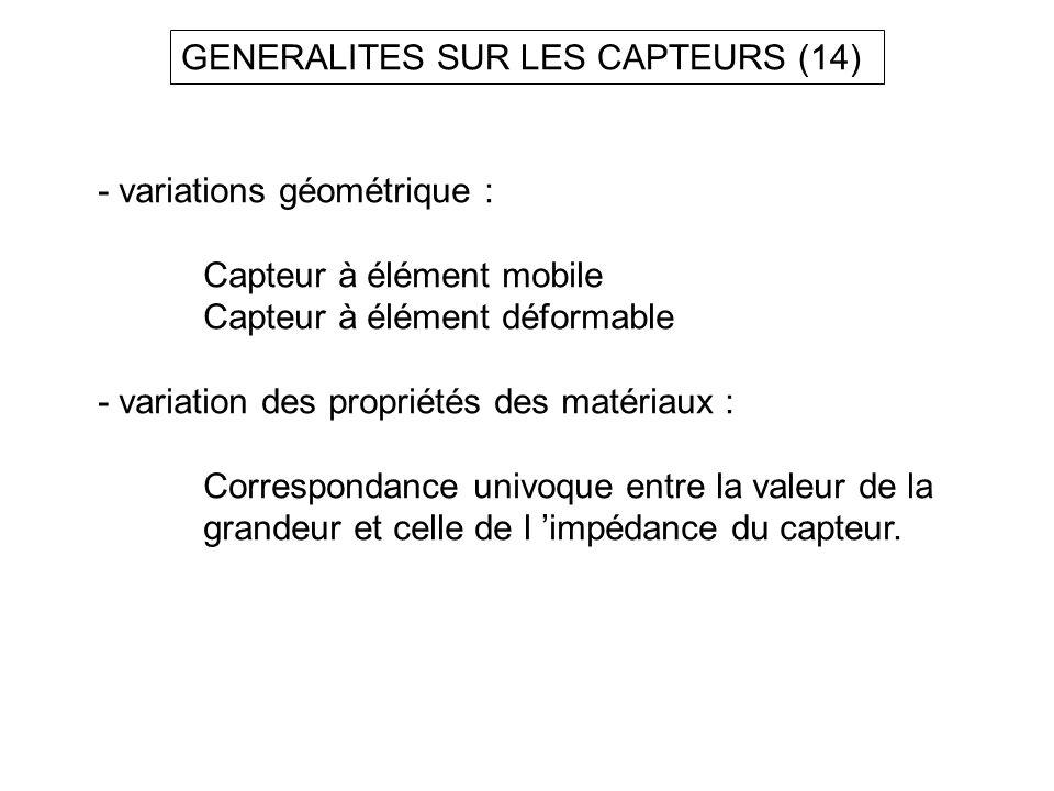 GENERALITES SUR LES CAPTEURS (14)