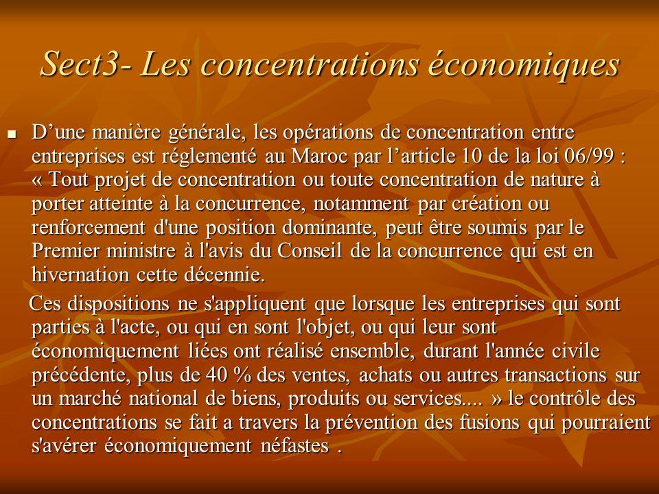 Sect3- Les concentrations économiques