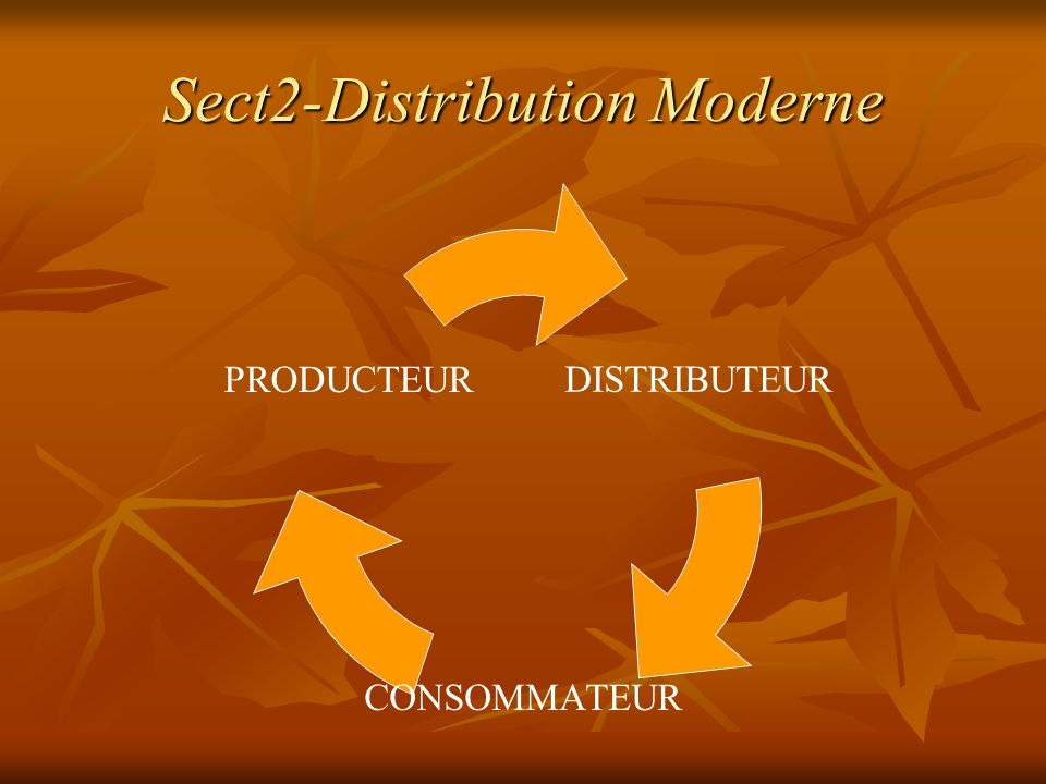 Sect2-Distribution Moderne
