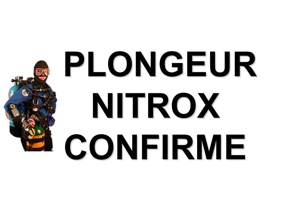 PLONGEUR NITROX CONFIRME